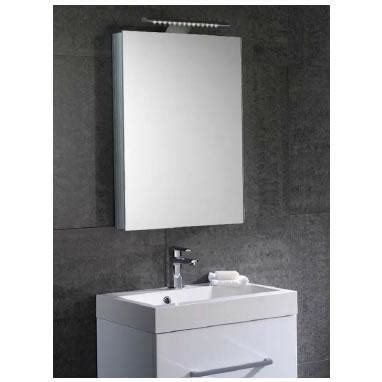 led bathroom mirror cabinets aura 50cm mirror bathroom cabinet with led lights