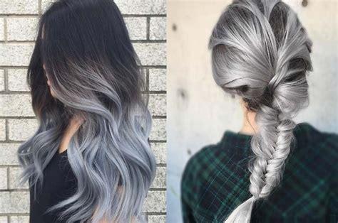 como hacer rayitos grises colores de pelo que marcan tendencia en el pr 243 ximo 2017