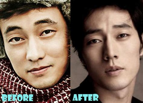 so ji sub old pictures so ji sub plastic surgery before and after nose job