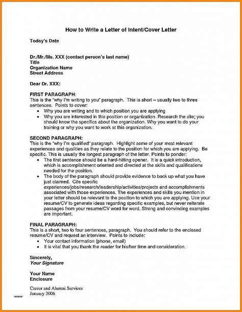 business letter intent exle sle letter of intent to 28 images letter of intent to