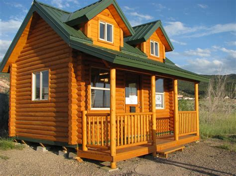 tiny house kits pine hollow log homes