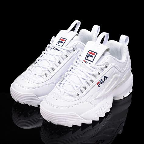 Sepatu Fila Disruptor 2 Original new fila womens disruptor ii 2 fs1htz3071x white us w 5 0