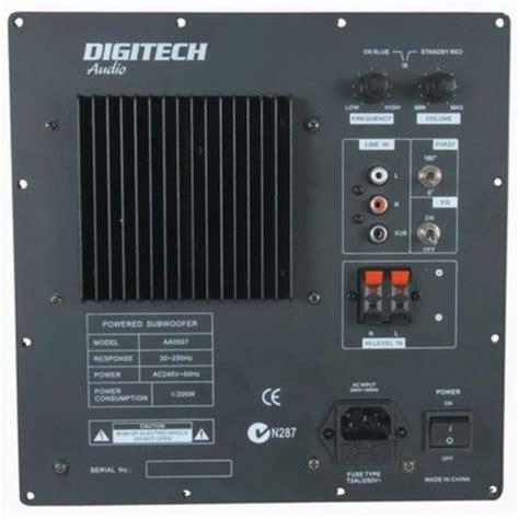 wrms  amplifier module jaycar electronics