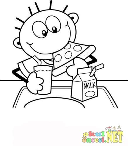 coloring book zippy lunch printable coloring pages