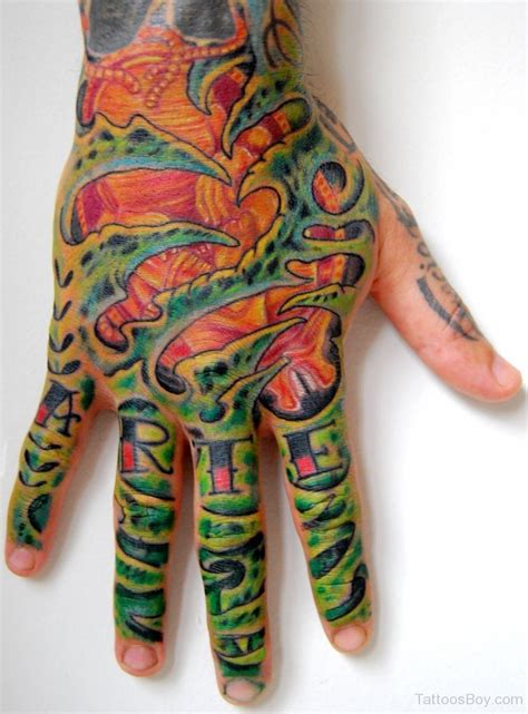 biomechanical wrist tattoo biomechanical tattoos designs pictures