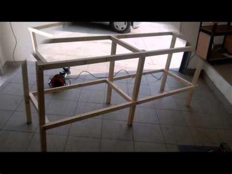 come costruire un tavolo da lavoro tavolo lavoro fai da te