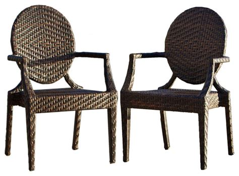 outdoor comfortable chairs townsgate outdoor armchairs set of 2 contemporary