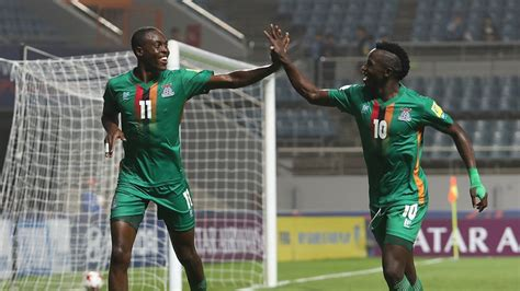 zambia deliver hammer blow  algeria world cup hopes