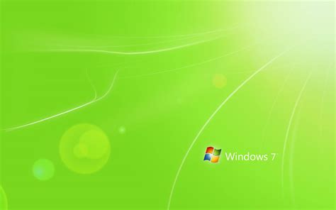 Wallpapers Green Windows 7 Wallpapers Microsoft Powerpoint Templates For Windows 7 Free