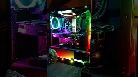 rgb light pc nzxt rainbow rgb ryzen pc light