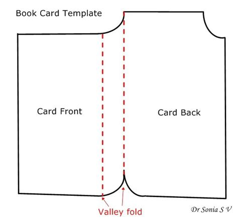 tool box card template book shaped card tutorial and template shaped cards
