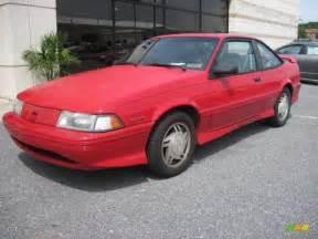 bright 1993 chevrolet cavalier z24 coupe exterior