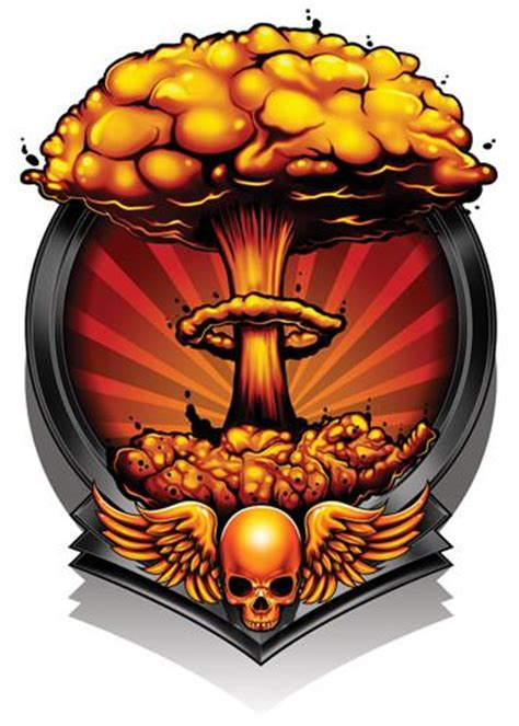 mushroom cloud tattoo cloud black ops 2 temporary tatt me