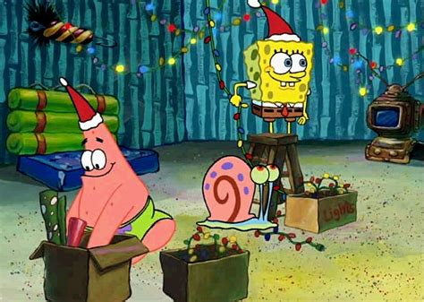 spongebob christmas 7 spongebob squarepants photo