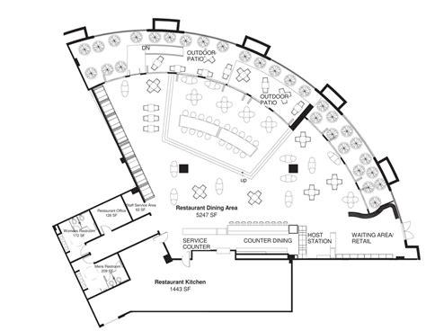cafe floor plan design cafe gratitude jlm designs