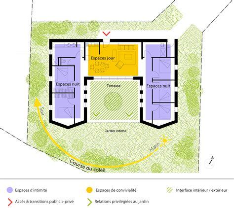 Maison En T Plain Pied by Plan Maison Plain Pied Avec 5 Chambres Ooreka