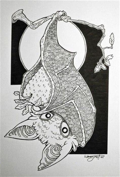 froot bat zentangle art journal amp doodles pinterest bats