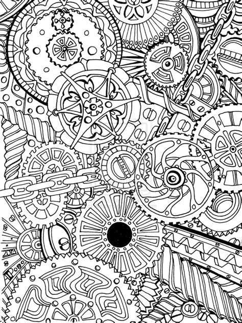 adult colouring page artwyrd deviantart coloring pages