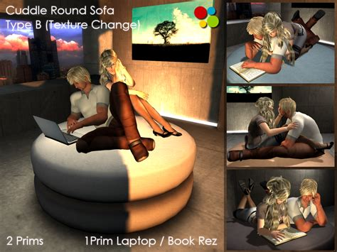cuddling positions on the couch off brand furniture in second life cuddle round sofa