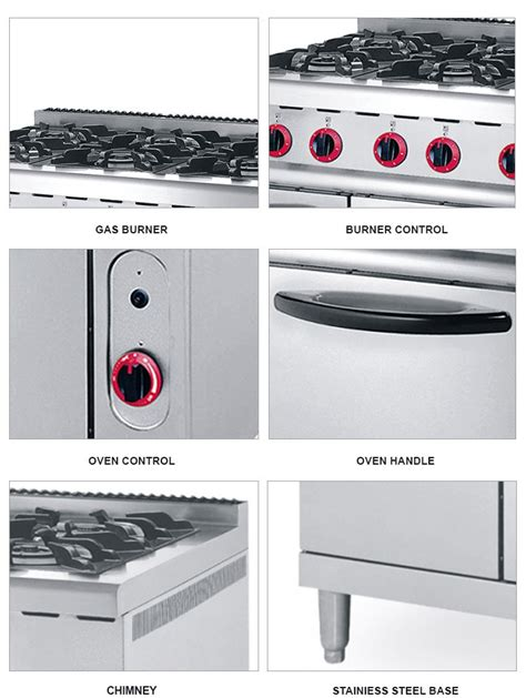 kitchen appliance manufacturers best price kitchen appliance 6 burners gas range gas stove