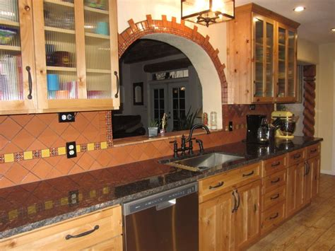 Mexican Kitchen Cabinets Rustic Mexican Kitchen Kitchens Pinterest