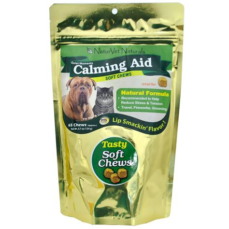 calming aid for dogs naturvet moments calming aid for dogs cats 65 soft chews