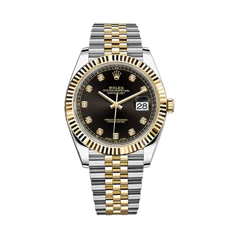 Rolex Rantai Silver Combi Rosegold rolex datejust 41 126333 gold stainless steel w 2 links world s best
