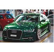 Audi A6 4G Limousine In Der Fotomontage Mit Neuer Farbe