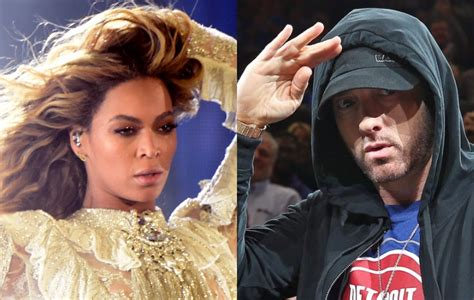 eminem beyonce jay z persuaded beyonce to feature on eminem s new track