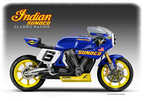 Moto Scouts Nt by Indian Sunoco Classic Racing Concept By Obiboi On Deviantart