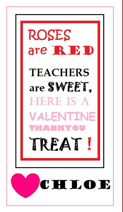 valentines cards for teachers the world s catalog of ideas