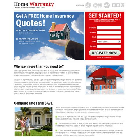 home insurance quotes templates quotesgram