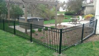 Backyard Fence Styles Wrought Iron Fencing For Your Home Anoceanview Com