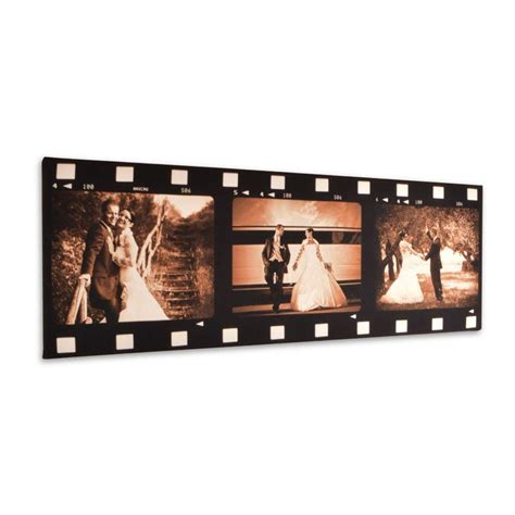 film cinta on delivery film strip photo frame personalised movie canvas prints