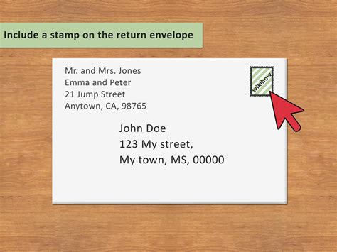 Letter Address Envelope 3 ways to address an envelope to a family wikihow