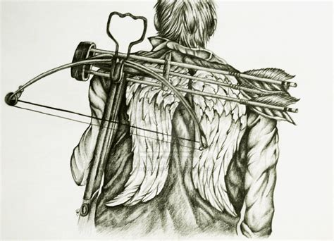 daryl dixon tattoo daryl dixon wings by samanddean67 on deviantart daryl