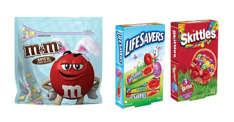 mysavings smartsource printable grocery coupons m ms lifesavers and skittles easter candy printable