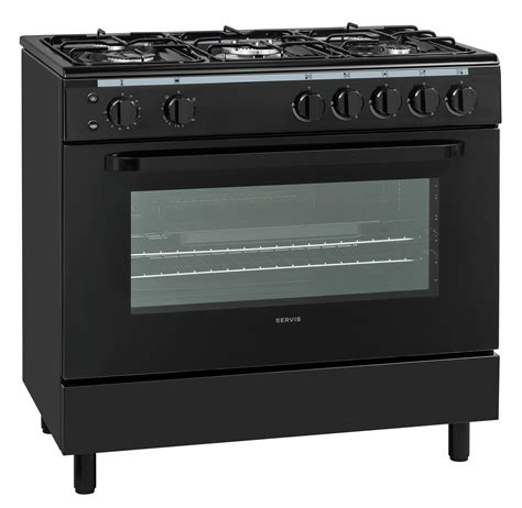 Oven Gas 1 Jutaan servis sg900k 90cm gas range cooker in black 1 oven 5
