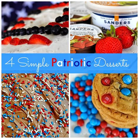 4 simple patriotic desserts mommy in sports