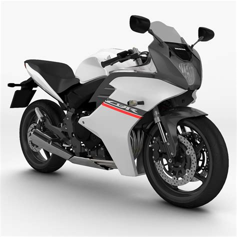 cbr models in 3d model honda cbr 600 f