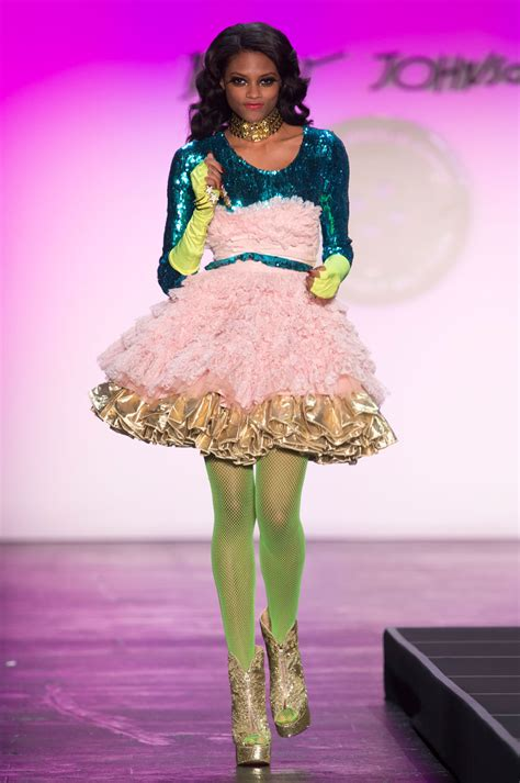 Betsey Johnson betsey johnson at new york fashion week 2016 livingly