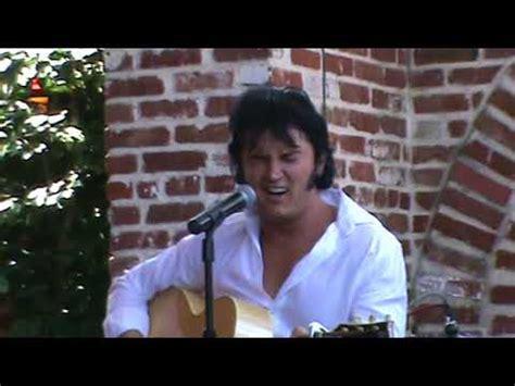 ben portsmouth sings hurt elvis week 2013