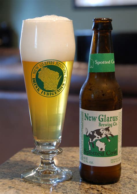Backyard Brewery The Beer Obsessor Beer Review New Glarus Spotted Cow
