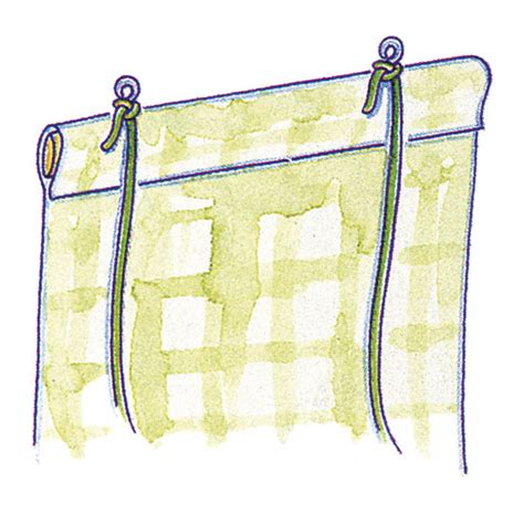 how to make roll up curtains make a roll up blind