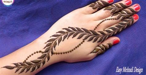 top 25 new year mehndi designs 2018 easy mehndi design