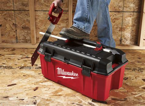 milwaukee introduces  jobsite work box tools
