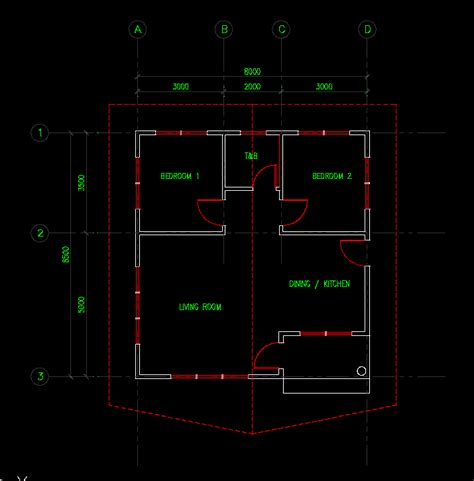Simple House Floor Plan 3d Max Modelling Tips Page 3