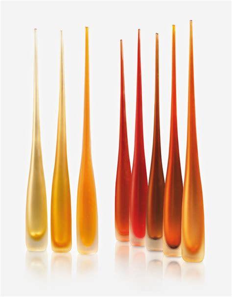 vasi vetro murano vaso satinato flute vetro di murano fornace mian