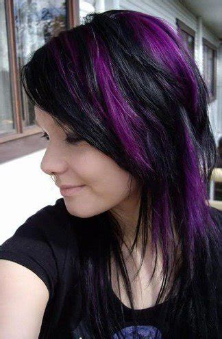 purple hair styles for black hair trend alert black and purple hair would you dare