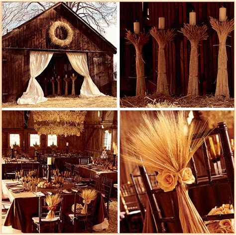 barn decoration ideas all that glitz glamour your fall harvest wedding